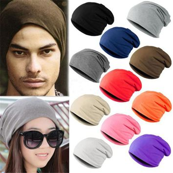 Winter Bad Hair Day Warm Unisex Knitted  Crochet Slouchy Hat Cap for Women Men Beanies Hip Hop Hats For Dropshipper