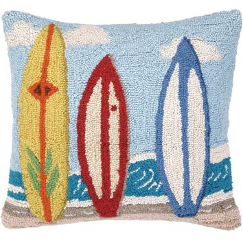 Surf Boards Pillow 16X16""