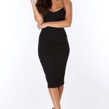 Satisfaction Midi Dress
