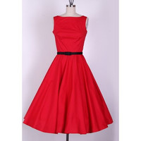 Red Vintage Mini Dress