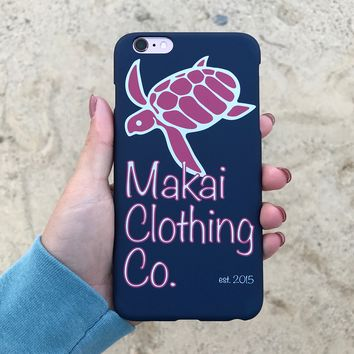 True Navy Classic iPhone Case