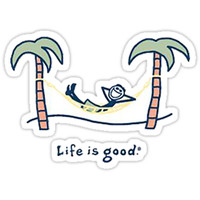 Life is Good Hammock by alexabourcier