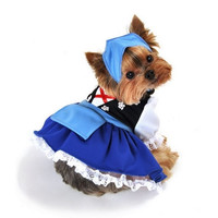 Gretchen Beer Maiden Dog Costume - Small