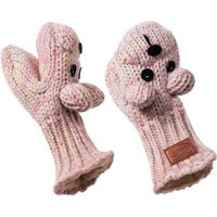 kyber Rainbow Bear Wool Mittens -Adult