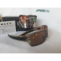 New Oakley TURBINE Sunglasses KING WOODLAND CAMO VR28 Black Iridium 6263-28 Hunt