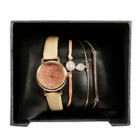 Pink Watch and Bracelet Box Set