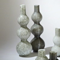 Global Views Three Bubble Vase-Light Grey - Global Views 8-81695