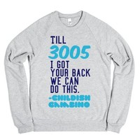 3005-Unisex Heather Grey Sweatshirt
