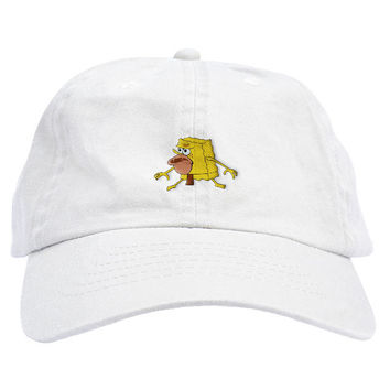 Savage Spongebob Dad Hat