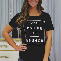 Yes to Brunch Top