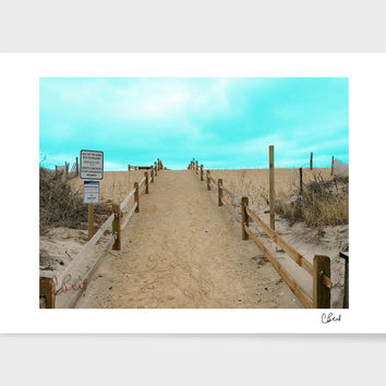 «Beach Day» Art Print by Casey Bell - Exclusive Edition from $24.9 | Curioos