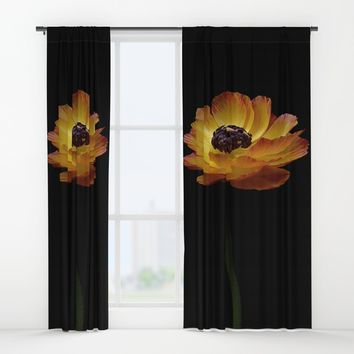 Happy flower Window Curtains by abeerhassan