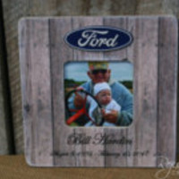 Personalized frames memorial frames sympathy gifts loss gifts remembrance frames gifts for her ford trucks celebration of life gifts