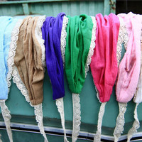 Colorful choices natural lacework Anywhere by GarlandsOfGrace