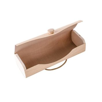 Hot Wood Case SunGlasses Case Vintage Sun Glasses Eyeglasses Holder Retro Box Bag Cases Eyewear Accessories Clam Shell Protecto