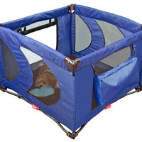 Pet Gear Cobalt Blue Large Home N' Go Soft Dog Pen