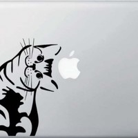 Cat - Whatcha Doin? - I Can Haz? - Macbook or Laptop Decal - Manufactured in the USA by Yadda-Yadda Design Co.