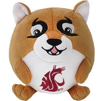 Washington State University Cougar: An Adorable Fuzzy Plush to Snurfle and Squeeze!