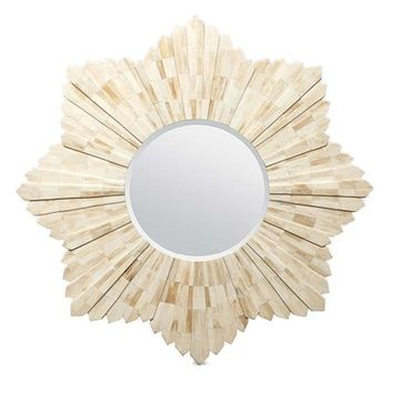 Made Goods Marlow Mirror - Natural Bone | New Mirrors | What's New! | Candelabra, Inc.