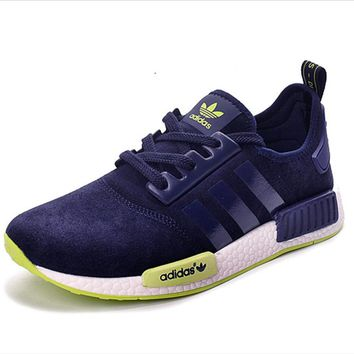 "Fashion ""Adidas"" Women Trending NMD Running Sports Shoes Navy blue"