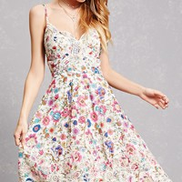 Indika Floral Embroidered Dress