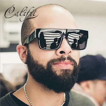 CALIFIT Square Onyx Midnight Sunglasses UV400