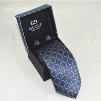 Gucci Tie cheap fashion accessories luxury brand mens tie Business Casual high quality