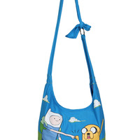Adventure Time Finn Jake Hobo Bag