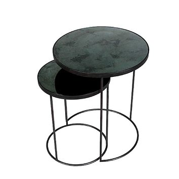 Notre Monde Nesting Side Tables - Set of 2