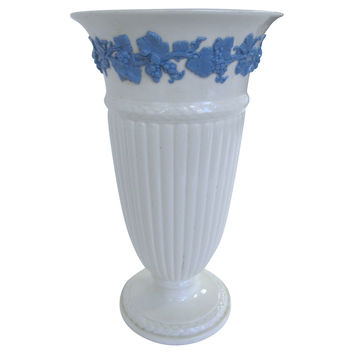 Wedgwood    Queensware   Tall Stem Vase