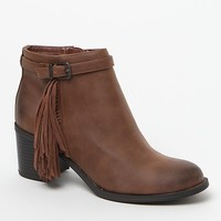 Circus by Sam Edelman Jolie Bootie - Womens Boots - Saddle Leather