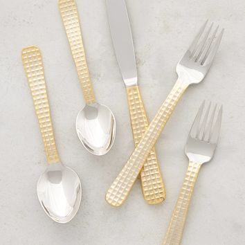 Manhattan Gold Flatware