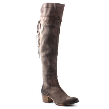 Diba True Shoes Sunset Sail Over The Knee Riding Boots Beige