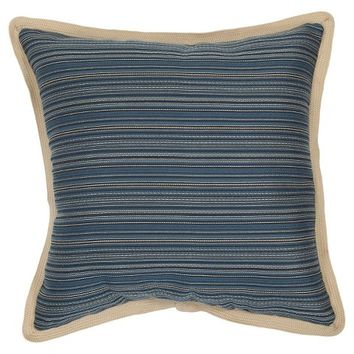Smith & Hawken™ Pillow Indigo Stripe