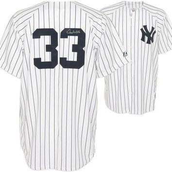 ONETOW David Wells Signed Autographed New York Yankees Baseball Jersey (MLB Authentication)
