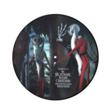 The Nightmare Before Christmas Soundtrack Vinyl LP Hot Topic Exclusive