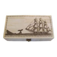 Whale Chase Bone Box