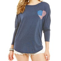 Moa Moa Fourth of July Americana Spirit Tee | Dillards