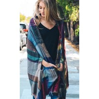 Fall's Favorite poncho