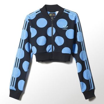 adidas Dear Baes Superstar Track Jacket - Blue | adidas US