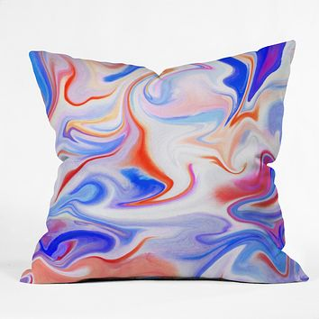 Jacqueline Maldonado Liquid 1 Throw Pillow