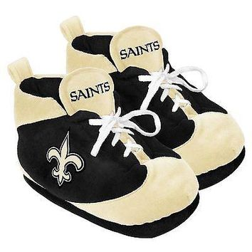 Saints Colorblock SLIPPERS New -  USA  - New Orleans Saints NS