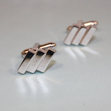 Art Deco Style Cuff Links