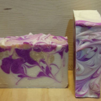 Ginger lime patcholi handmade soap