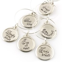 Nightmare Before Christmas Wine Charms - Spiffing Jewelry