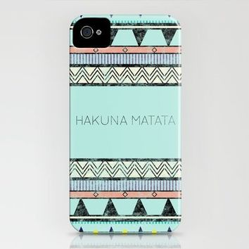 Hakuna Matata iPhone Case by lala | Society6