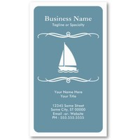 mod travel (sail boat) business cards from Zazzle.com