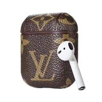 LV Louis Vuitton AirPods Case Cover Bluetooth Wireless Earphone Protector