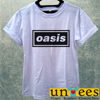 Oasis Logo Women T Shirt