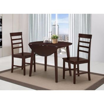 HARRISON Dining Ht Table with Two Chairs -4DC Concepts